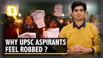 Why Are UPSC Aspirants Feeling Cheated?