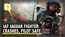 IAF Jaguar Fighter Crashes in UP's Kushinagar; Pilot Ejects Safely