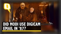 FACT CHECK | Did PM Modi Actually Use a Digicam & Email in 1987 ? | The Quint