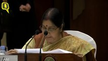 Sushma Swaraj Raises Pulwama Attack in Meeting With Chinese Counterpart