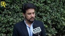 Social Media Shouldn't Be Used to Create Divisions in Indian Society: Anurag Thakur