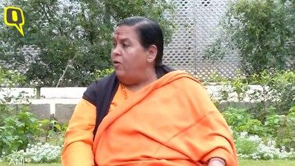 Temple Should be Made Where Lord Ram Was Born: Uma Bharti
