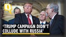 'Trump Campaign Did Not Collude with Russia': Mueller Report