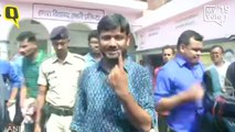 Come Out of Your Homes and Fight the Corrupt: Kanhaiya Kumar After Casting Vote