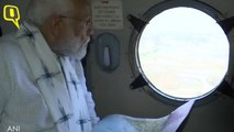 PM Modi Conducts Aerial Survey of Cyclone Fani affected areas in Odisha