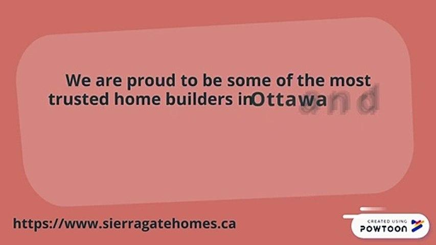 Home Builders Ottawa