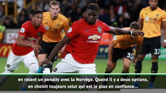 """2e j. - Solskjaer et l'échec de Pogba sur penalty : """"Il en a tellement réussi auparavant"""""""