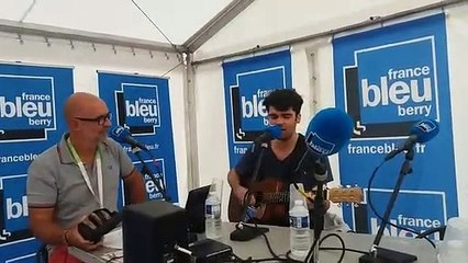 Valentin en direct sur France Bleu Berry avec Manuel Bonnefond