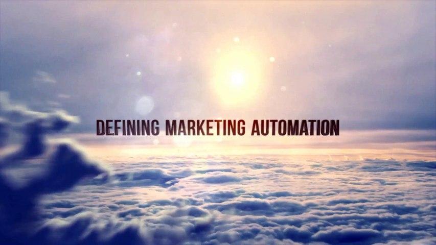 Defining Marketing Automation