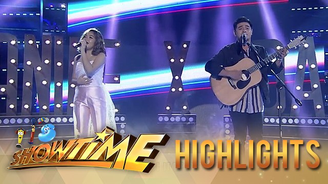 Janine Berdin and Dan Ombao serenade the Madlang People | It's Showtime