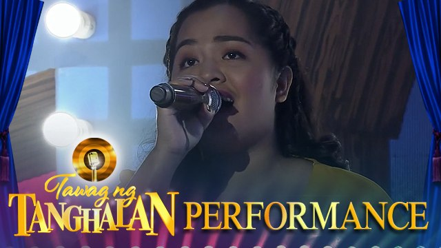 Rica Mae Maer | Stand Up For Love | Tawag ng Tanghalan