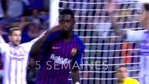 La cause de la nouvelle blessure d'Ousmane Dembélé va rendre fous les supporters