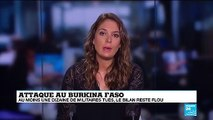 Attaque au Burkina Faso : au moins une dizaine de militaires tués, le bilan reste flou