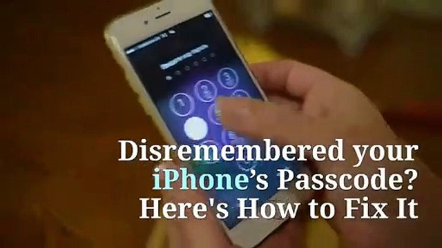 Forgot your iPhone's Passcode Here's How to Fix It