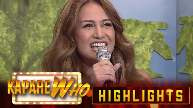 Regine Tolentino joins KapareWHO! | It's Showtime KapareWHO