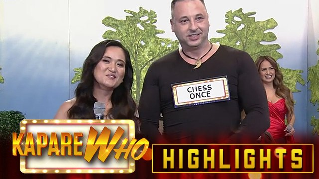 Chess Once is chosen as Lorna Talent-ino's KapareWHO | It's Showtime KapareWHO