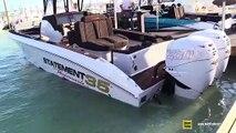 2019 Statement 35 Performante Center Console Boat - Walkaround - 2019 Miami Boat Show