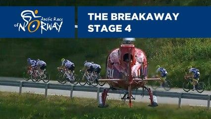 The breakaway - Stage 4 - Arctic Race of Norway 2019