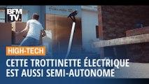 Cette trottinette électrique semi-autonome va se recharger toute seule