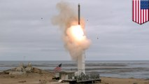 U.S. tests previously banned missile under the INF treaty