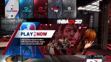 NBA 2K20 - Gameplay et test du jeu