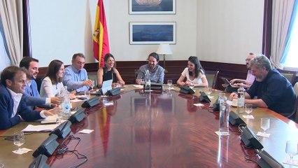 Unidas Podemos envía un documento al PSOE para negociar gobierno