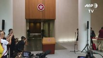 Chefe de Governo de Hong Kong espera 'volta à calma'