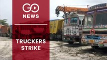 Indefinite Strike By Truckers In West Bengal