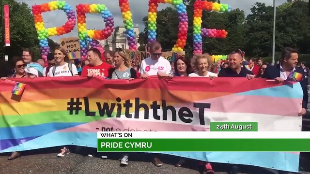 Pride Cymru, Annie The Musical & Saved By The 90s!