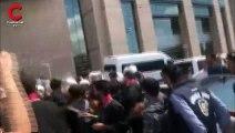 Çağlayan'da kayyım protestosuna müdahale