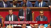 Le président du Conseil italien, Giuseppe Conte, va remettre sa démission