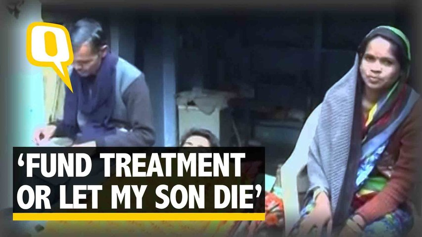 Father of Ailing Son Asks PM, Prez for Help or Permit Euthanasia