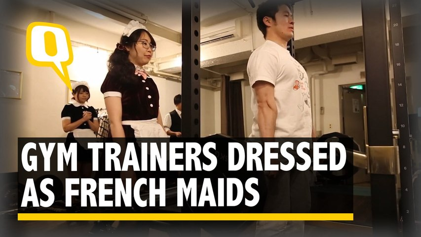 The Quint: This Tokyo Gym Adds a Frilly Twist to Your Daily Workout Routine