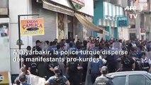 La police turque disperse des manifestants pro-kurdes à Diyarbakir