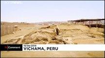 """Perù: scoprono un """"rospo umanizzato"""" di 3.800 anni"""