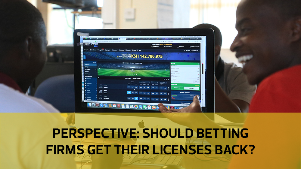 Perspective: Should betting firms get their licenses back?