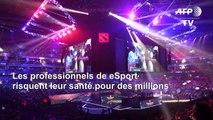 Esport: les joueurs risquent leur santé pour des millions
