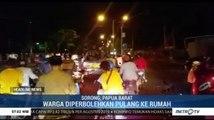 Kondisi Kota Sorong Kondusif, Warga Diperbolehkan Pulang