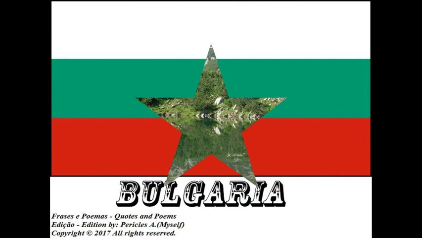 Beautiful country flags of the world: Bulgaria [Quotes and Poems]
