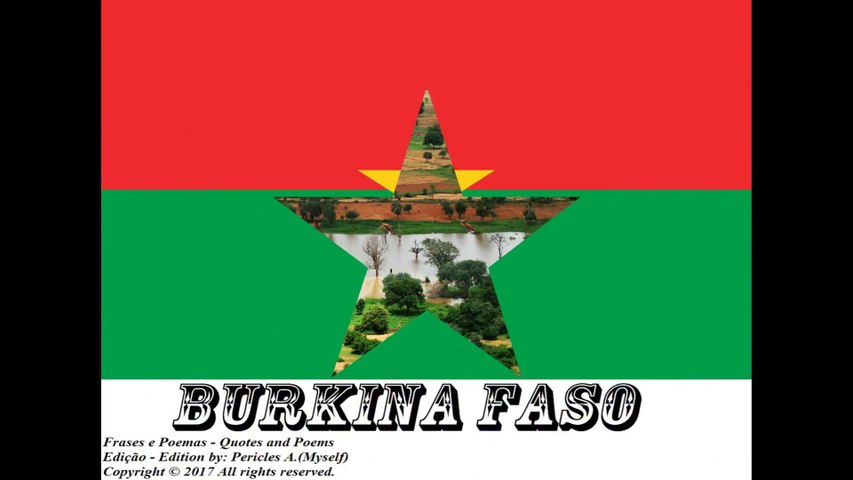 Beautiful country flags of the world: Burkina Faso [Quotes and Poems]