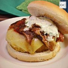 Hambúrguer de grão-de-bico   Receitas Guia da Cozinha