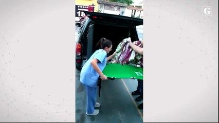 Resgate de cachorro baleado em Vila Velha