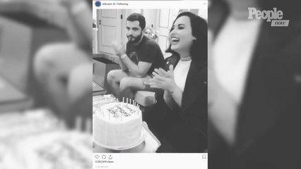 Demi Lovato Celebrates Birthday in London with Sweet Ariana Grande-Led Chant