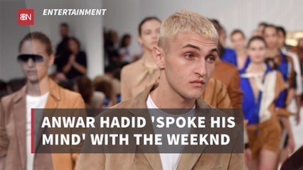 Anwar Hadid And The Weeknd Are Not Friends
