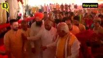 Haryana CM Brashly Snubs Youth's Selfie Attempt