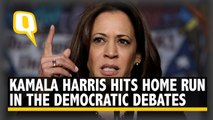Indian-Origin Kamala Harris Nipping at Joe Biden's Heels After Dem Debates