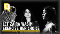 Let Zaira Wasim Be: Don't Assume Muslim Women Need Saving