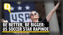 Love More, Hate Less: US Soccer Star Rapinoe at Victory Parade