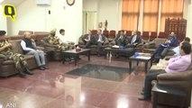 Indo-Pak Bilateral Meet On Kartarpur Corridor Underway In Wagah