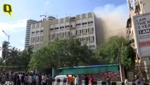 Fire Breaks Out at MTNL Building in Mumbai, 100 Feared Trapped